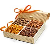 Simply Crave Nut Gift Baskets, Gourmet Food Gift, Nuts Tray Gift Assortment, Sweet & Savory (Large), 1 Count