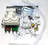 AP3085178 - Quality Replacement Dual Water Valve Kit for Refrigerators with Water Dispenser and Ice Maker. Fits Whirlpool, Kenmore, Maytag, KitchenAid, Amana, Admiral, Magic Chef, Norge, Roper. (Installation Instructions Inluded in Kit)