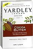 Yardley London Cocoa Butter Naturally Moisturizing Bath Bar, 4.25 ounce