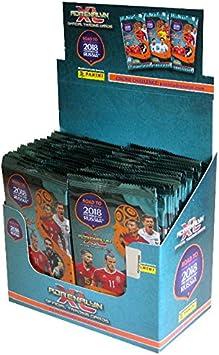 Adrenalyn XL Conjunto de 36 Sobres de cromos de la colección Oficial Road to World Cup 2018: Amazon.es: Juguetes y juegos
