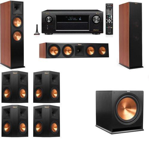 Klipsch RP-280F Tower Speakers CH-7.1-Denon AVR-X4300H by Klipsch
