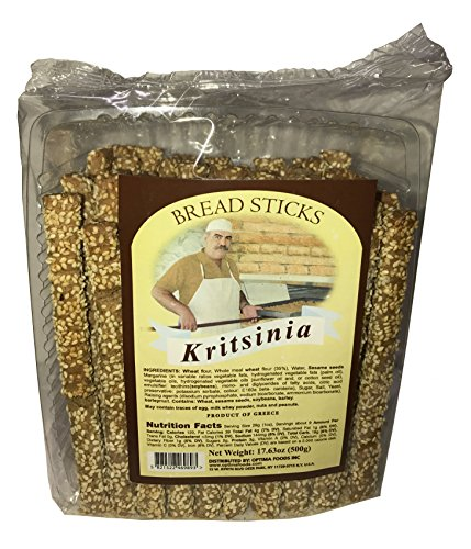 Kristsinia Bread Sticks 17.63 oz. (Pack of 4) by Kristsinia