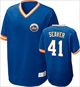 new product c7f42 d79f8 Amazon.com: Nike MLB Tom Seaver New York Mets Cooperstown ...