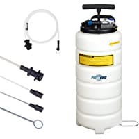 FIRSTINFO 15 Liter Pneumatic and Manual Operation Oil or Fluid Extractor