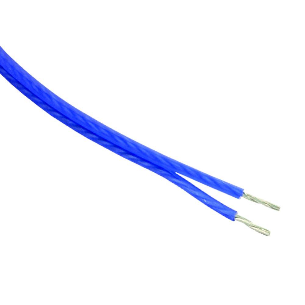 Stinger SHW516B 250-Foot of 16 Gauge Matte Blue Speaker Wire, Blue STIY7