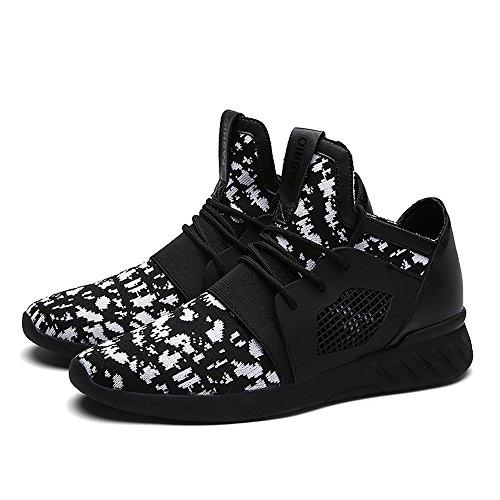 XIANV Sommer Herren Sneaker Mode Casual Schuhe Soft Breathable Mesh Frühjahr Lace-Up Männer Schuhe Bequeme Schuhe Männer Weiß
