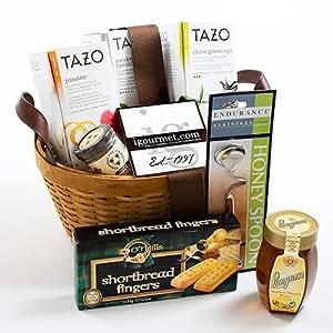 Amazon.com : Gift Basket of Tea and Honey (4 pound ...