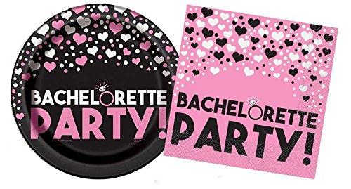 Bachelorette Party Plates And Napkins Set For 8 (Bachelorette Plates)