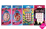 Best unknown Fake Nails - Vivace 4PACK Preglued Junior Sticker Nails,2 Dream Fake Review