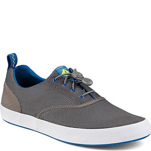 Sperry Top-Sider Men's Flex Deck Water Shoe, Grey, 10.5 M US