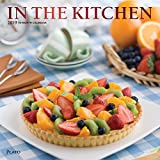 In the Kitchen 2019 12 x 12 Inch Monthly Square Wall Calendar with Foil Stamped Cover by Plato, Home Cooking Food (Multilingual Edition)
