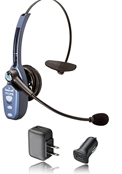 4e0f48b6e1e VXi Blueparrott B250-XTS Bluetooth Headset Bundle -203890 | Includes USB  Bluetooth Dongle and