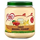 Cow & Gate Yummy Banana Yoghurt from 6m Onwards 125g