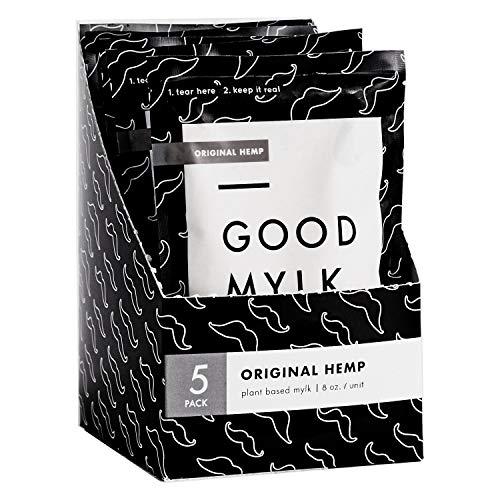 51nY7WNaXnL - Goodmylk Co. - Ready to Drink Hemp Milk (10 Pack) - 8 oz Ready to Drink Packets - Organic, Non-GMO, Vegan, Low Glycemic, Sustainable, Keto, Dairy Free (Original)