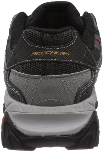 Burn Larga Antracite Sport ginnastica Scarpe Uomo Skechers M After Display Fit Grigio TwEPPYqx