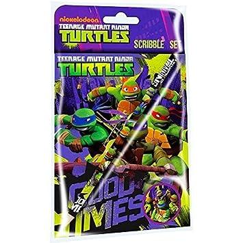 TMNT Juego de 3 tortugas Ninja Mutantes: viaje: Amazon.es ...