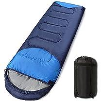 寝袋 封筒型 軽量 コンパクト 丸洗い シュラフ 夏用 冬用 防水 防...