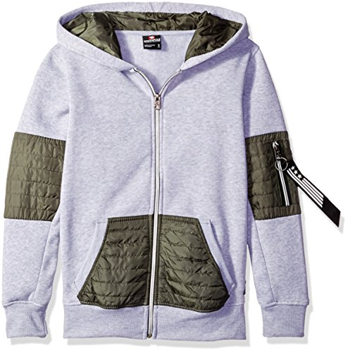 Southpole Hooded Quilted Utility Details