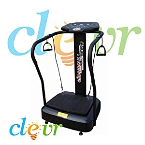Crazy Fit Pro Vibration Massage Fitness Exercise Machine Vibe Plate Platform
