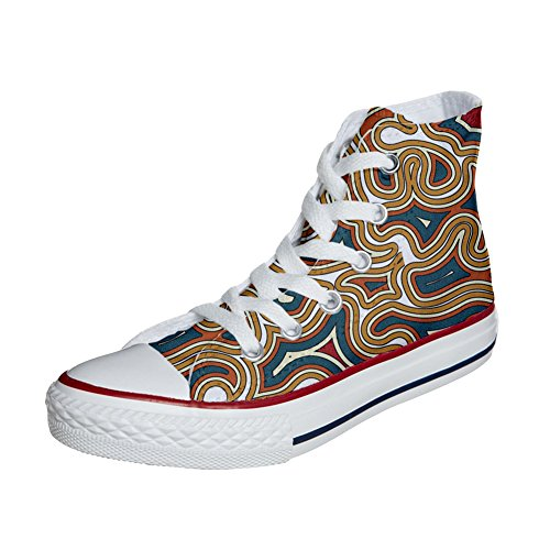 Coutume Produit Converse Tribal mys Customized Artisanal Unisex Texture Chaussures qdXIqwa