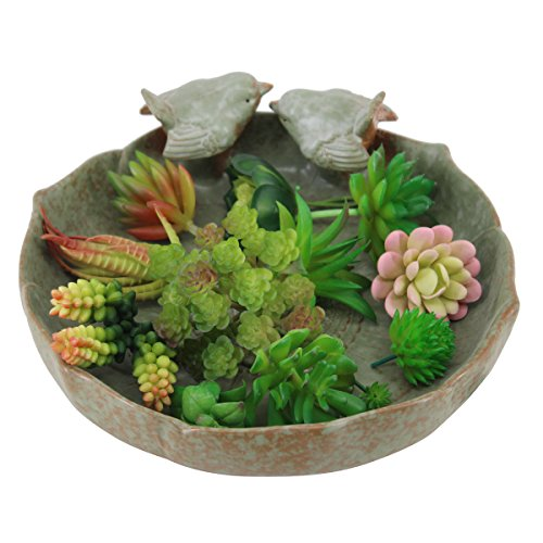 Greatflower 12 Different Kinds of Artificial Succulents for Plants Wall DIY Materials by Greatflower (Image #2)