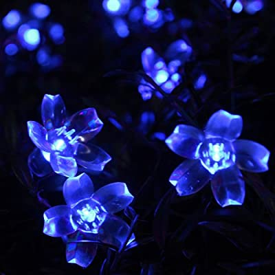 Innoo Tech**5M 50 LED Solar Blossom Decorative Fairy Lights Ideal for your patio, garden, lawn, chrismas trees, parties, weddings