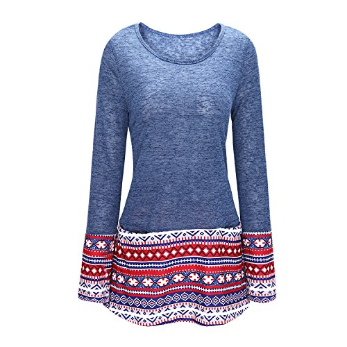 One Women Piece Mult Patchwork Sweater BoodTag Dress Knitwear Autumn Batwing Spring YwdYvq