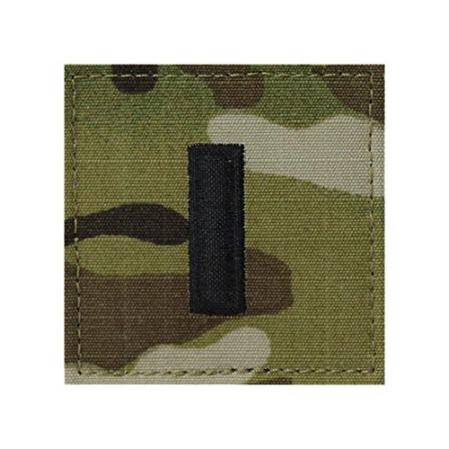 Multicam OCP Officer Rank Insignia With Fastener (1ST LIEUTENANT)