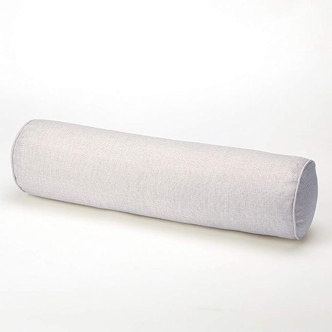 Almohada del Rollo del Color sólido Almohada del Caramelo ...