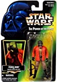 "1996 Hasbro Star Wars ""PONDA BABA"" Green Card Holo Foil"