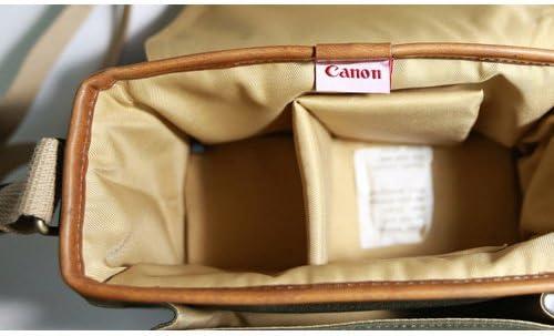 Canon D-SLR RF Mirrorless Pocket Shoulder Bag Case 6520 Khaki for Lens EOS M M2 M3 100D 400D 450D 500D 550D 600D 650D 700D 750D 51nYAuIvlzL