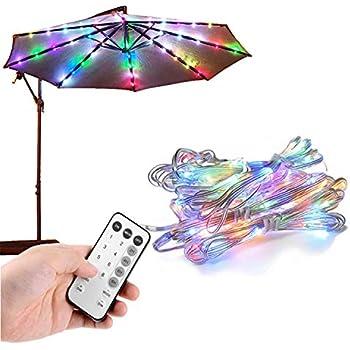 Umbrella Lights Patio Outdoor Umbrella Waterproof Led
