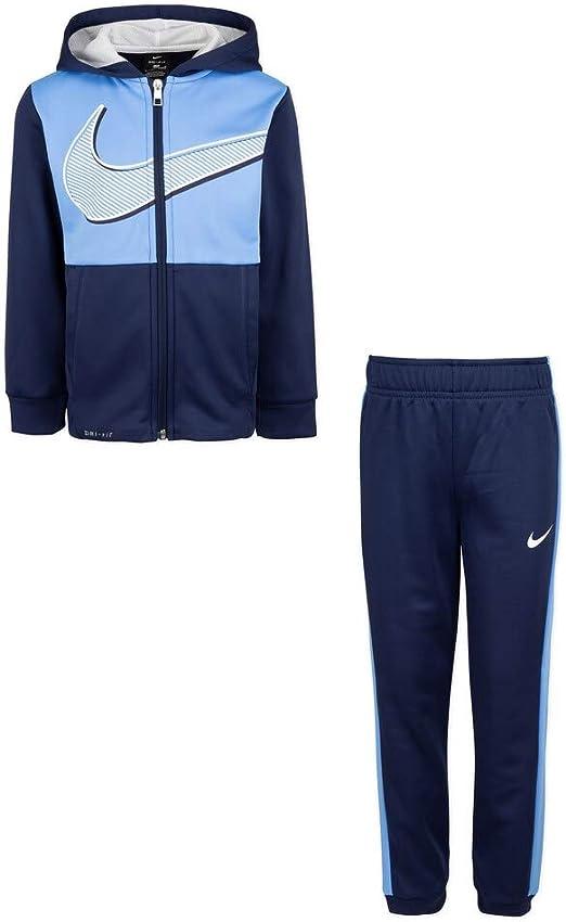 Nike Baby Boys Therma Dri-Fit 2-Piece Tracksuit /& Pants Set