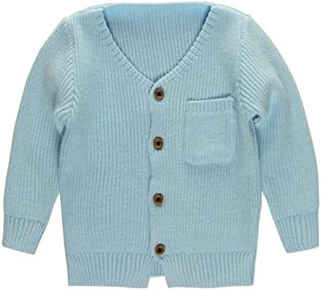 Coodebear Little Baby Boys' Cashmere Pockets Cardigan Sweaters