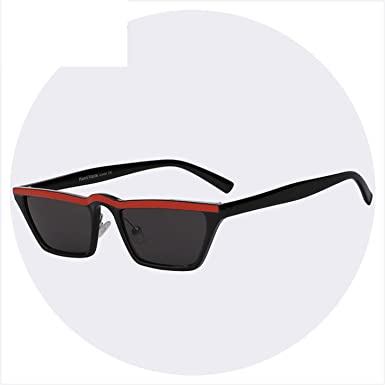 405d276de3d Image Unavailable. Image not available for. Color  Square Shades Sunglasses  Men Women Brand Designer Fashion Sun Glasses Retro Vintage Sunglasses Top