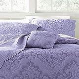 Brylanehome Amelia Bedspread (Lavender,Twin)