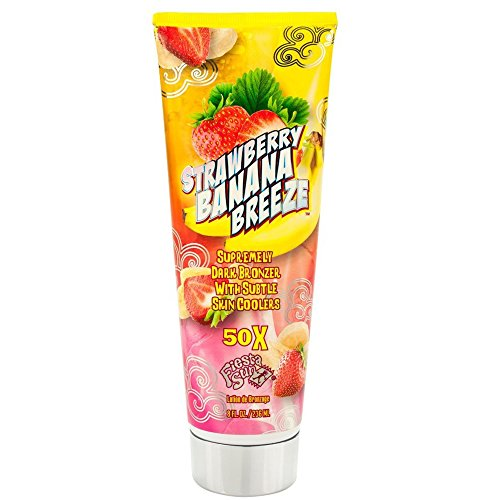 Fiesta Sun STRAWBERRY BANANA BREEZE 50X Tan Indoor Tanning B