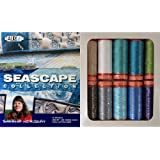 Aurifil Thread Set SEASCAPE COLLECTION By Sheena Norquay 50wt Cotton 10 Small (220 yard) Spools