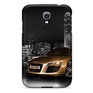 Slim Fit Protector Shock Absorbent Bumper Auto Audi R8 Gold (wds) Cases For Galaxy S4