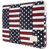 CanvasArtisan 13-13.3 Inch Laptop Sleeve,Laptop Case, USA Flag Bag Tablet Case