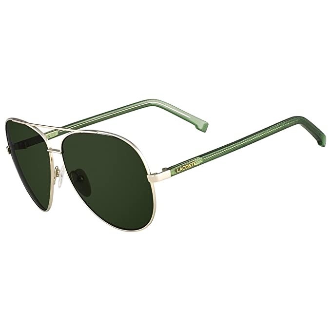 d4a810b19dd Lacoste L145S 714 Gold Green   Green L 145S Sunglasses  Amazon.ca  Clothing    Accessories