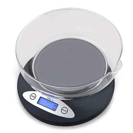 Básculas de cocina Báscula para Alimentos con Tazón ...