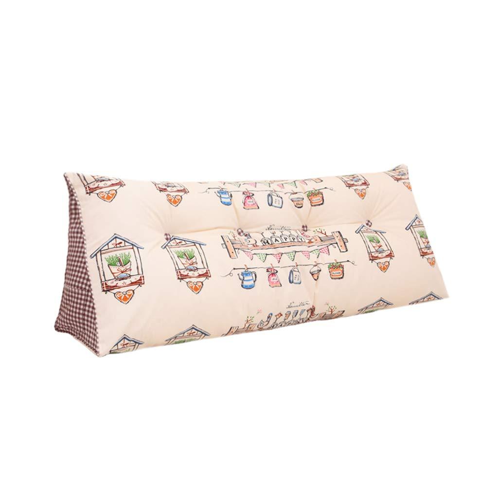 【税込】 CSQ枕 三角クッション、ダブルベッド背もたれベッドソファーピロー快適なコットンファブリック独立ライナー洗える枕 寝具 サイズ (色 : #1, サイズ 120CM CSQ枕 さいず : 200CM) B07NZ5GVTW 120CM|#1 #1 120CM, 花友禅:0360cfb1 --- svecha37.ru