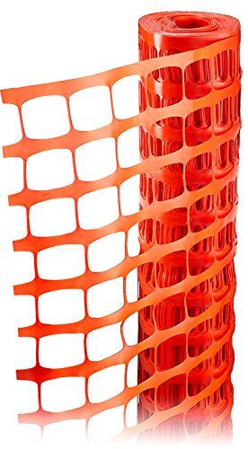 Event Fence (RK Safety RKF-4100 Economy Safety Fence, Orange, 4-Feet by 100-Feet)