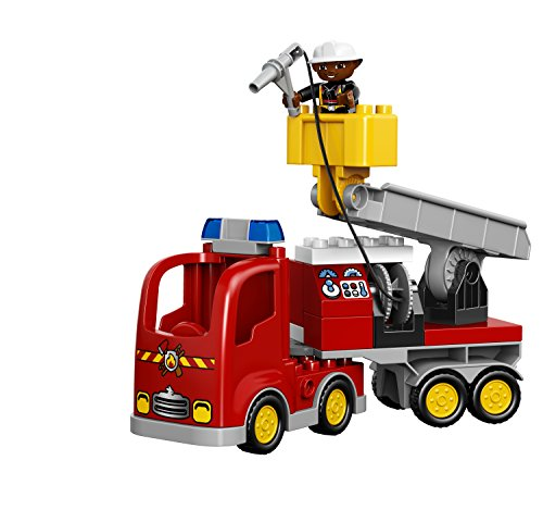 Truck Toys For 3 Year Olds : Lego duplo town fire truck buildable toy for year