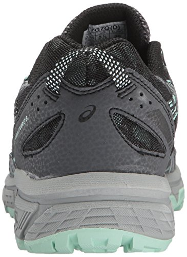 Asics Womens Gel-venture 6 Running-shoes Castlerock / Silver / Honeydew