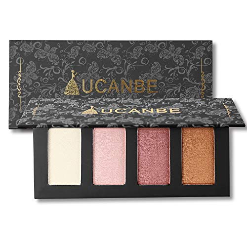 4 Colors Highlighter Makeup Palette Highlighting Illuminatin