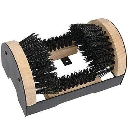 361528c431 New Heavy Duty Outdoor Boot Shoe Trainer Clean Door Step Brush Scraper  Clean Mud  Amazon.co.uk  Kitchen   Home