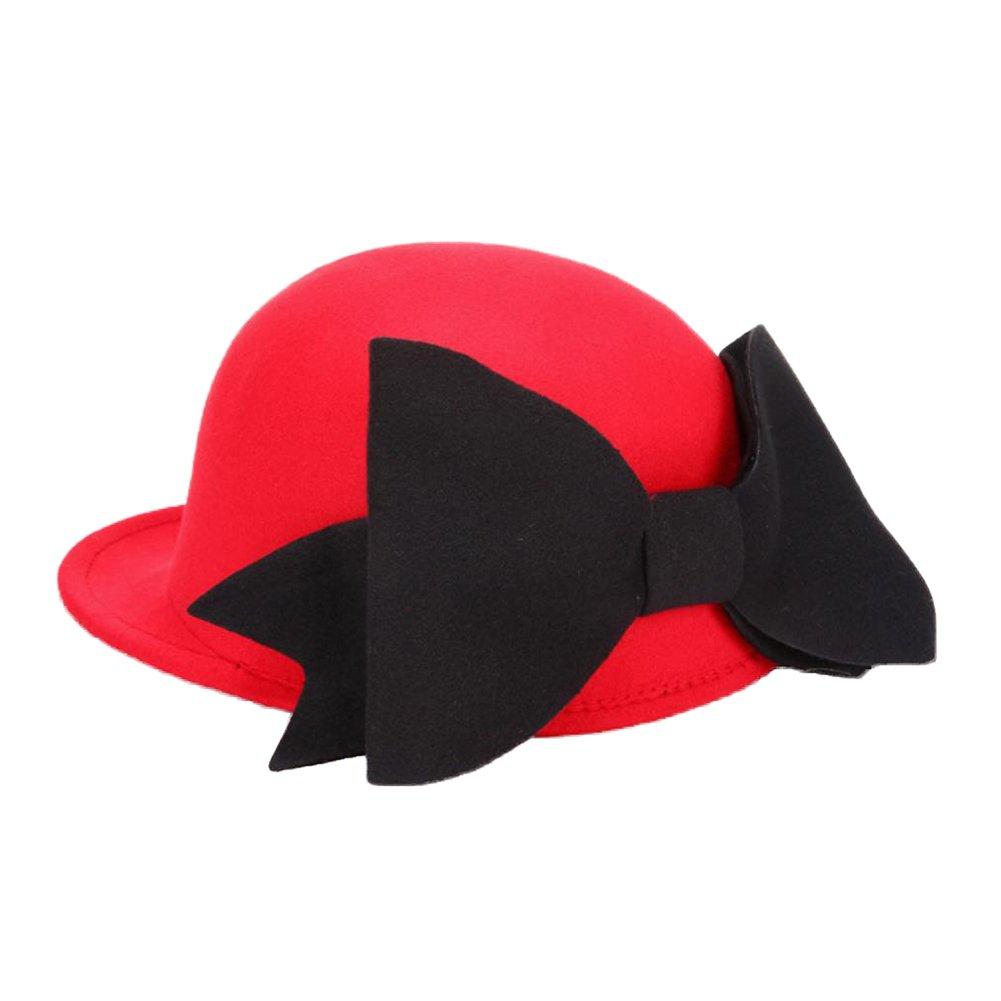 Dosige Mujeres Dama cubo Sombrero Invierno Sombrero caliente Sombrero de Fieltro Sombrero de fieltro...