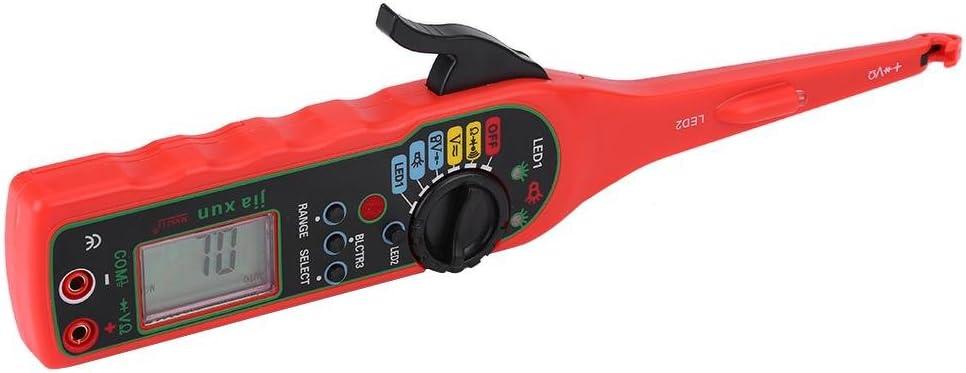 rot Auto Circuit Tester Multimeter Lampe Autoreparatur Kfz Elektrisches Diagnosewerkzeug Suuonee Auto Circuit Tester
